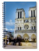 Notre Dame Cathedral Paris 3 Spiral Notebook