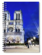 Notre Dame Cathedral Paris 4 Spiral Notebook
