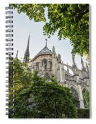 Notre Dame Cathedral - Paris, France Spiral Notebook