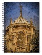 Paris, France - Notre-dame De Paris - Apse Spiral Notebook