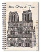 Notre Dame De Paris Spiral Notebook