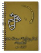 Notre Dame Fighting Irish Helmet 2 Spiral Notebook