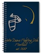 Notre Dame Fighting Irish Helmet Spiral Notebook