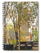 Notre Dame From The Window Spiral Notebook