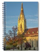Notre Dame University Basilica Of The Sacred Heart Spiral Notebook