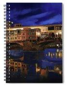 Notturno Fiorentino Spiral Notebook