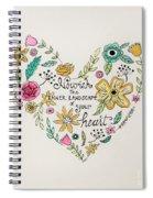 Nourish Spiral Notebook