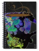 Nouveau Cafe Cool Spiral Notebook