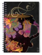 Nouveau Cafe Warm Spiral Notebook