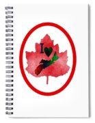 Nova Scotia Proud Spiral Notebook