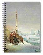 Nova Zembla Coast Spiral Notebook