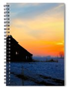 November Barn 2 Spiral Notebook