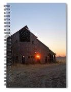 November Barn Spiral Notebook