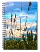 November Day At The Beach In Florida Spiral Notebook
