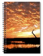 November Evening Spiral Notebook
