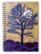 November Moon Flash Spiral Notebook