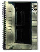 November Night In Colonial Blue Spiral Notebook