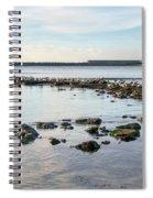 November Seascape 5 - Lyme Regis Spiral Notebook