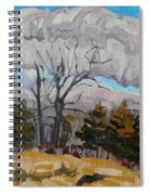 November Sky 2008 Spiral Notebook