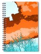 November Sky Spiral Notebook