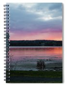 November Sunrise At Esopus Meadows II Spiral Notebook