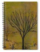 November Tree Spiral Notebook