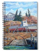 Novia Scotia Spiral Notebook