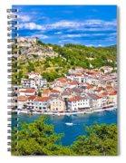 Novigrad Dalmatinski Waterfront And Bay View Spiral Notebook