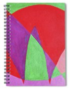 Now In Abstract Text Art Spiral Notebook