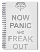 Now Panic 0 Spiral Notebook