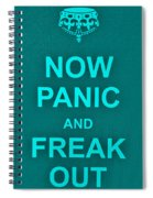 Now Panic 12 Spiral Notebook