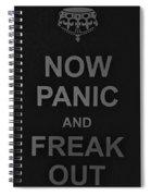 Now Panic 30 Spiral Notebook