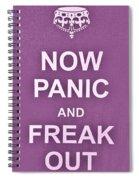 Now Panic 7 Spiral Notebook