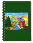 Now, Where Did He Disappear To? Spiral Notebook