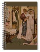Nr-dress Norman Rockwell Spiral Notebook