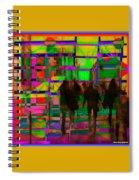 Nu City Beyond Blade Runner Spiral Notebook