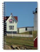 Nubble Light 1 Spiral Notebook