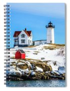Nubble Light 2 Spiral Notebook