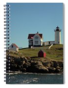 Nubble Light 4 Spiral Notebook