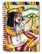 Nubian Queen Spiral Notebook