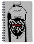 Nucky Thompson Boardwalk Rye Whiskey Tee Spiral Notebook
