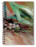 Nude 0221c1 Spiral Notebook