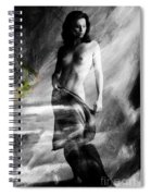 Nude 026b Spiral Notebook
