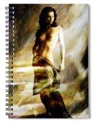 Nude 026e Spiral Notebook