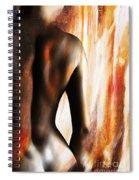 Nude 028a Spiral Notebook