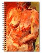Nude 1.0 Spiral Notebook