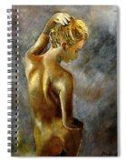Nude 27 Spiral Notebook