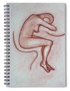 Nude 3 Spiral Notebook