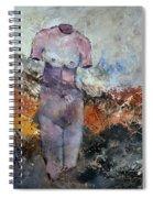 Nude 363602 Spiral Notebook