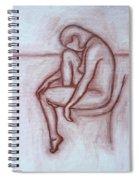 Nude 41 Spiral Notebook